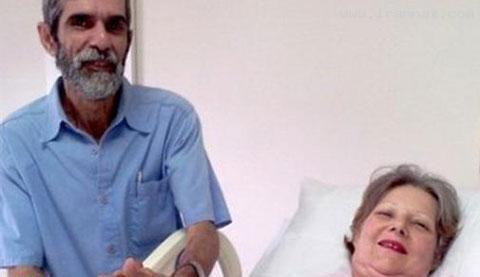 بچه دار شدن یک زن برزیلی در سن 61 سالگی!!