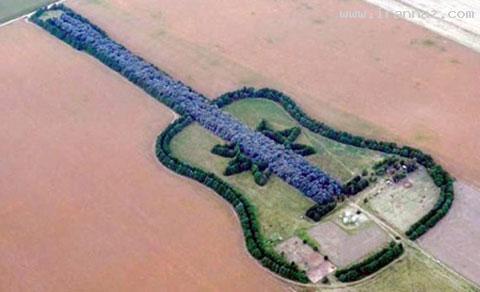 گیتار کیلومتری برای گرامیداشت یاد همسر (+عکس)