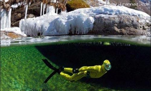 عکس هایی زیبا و باورنکردنی از زلال ترین رودخانه دنیا