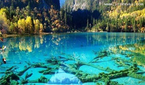 زیبا، رنگارنگ و خارق العاده ترین دریاچه ها! (+تصاویر) 1