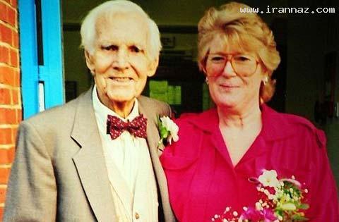 اعتیاد عجیب یک پیرزن آمریکایی به ازدواج!! (+تصاویر)
