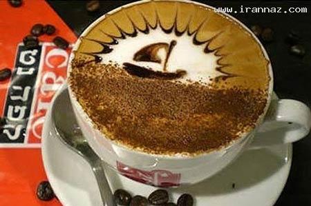 عکس های بسیار جالب از تزئین های زیبا بر روی قهوه