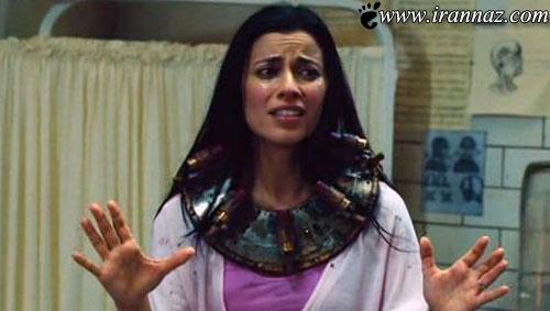 ایفای نقش یک دختر ایرانی در فیلمهای وحشتناک اره
