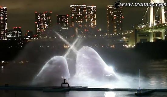 عکس های زیبا از پیشرفته و جالبترین آب افشانی جهان