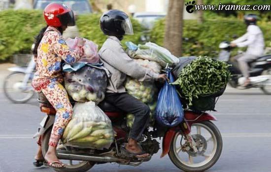 عکس های خنده دار از بی خیال ترین مردم جهان