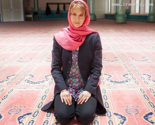 مسلمان شدن مجری زن زیبا و جذاب آلمانی! (عکس)