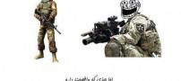 خالی بندی آقا پسرها از خاطرات سربازی (عکس طنز)