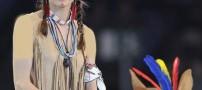 جنجال بر سر لباس جالب یک شاهزاده خانم فرانسوی