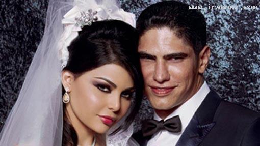 طلاق خواننده زیبای عرب از همسر زشت خود (عکس)