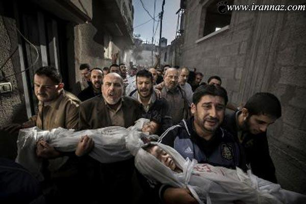 برترین عکس های تکان دهنده خبری جهان در 2012