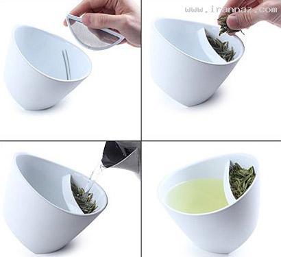 دم کردن چای به روشی متفاوت و جالب! (عکس)