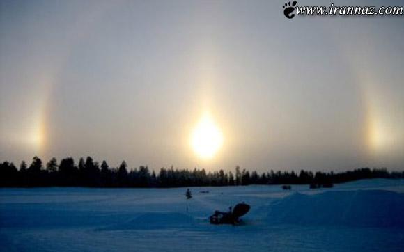 مردم چین 3 خورشید را در آسمان مشاهده کردند!