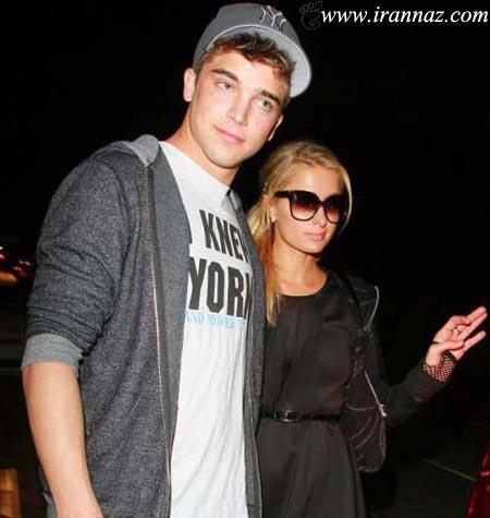 دوستی پاریس هیلتون 31 ساله با پسر 21 ساله