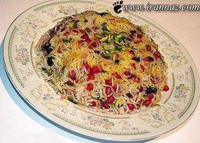 آشنایی با طرز تهیه انار پلو، غذای مخصوص شب یلدا