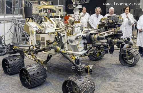 منتشر شدن نخستین عکسهای رنگی از سطح مریخ