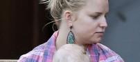 افسردگی بازیگری که در 1سال 2 بار باردار شد(عکس)
