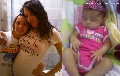 آزار جنسی یک کودک 10 ماهه توسط مادر سنگدلش!!