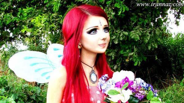 عکسهای جدید زیباترین دختر با بیش از 200عمل زیبایی