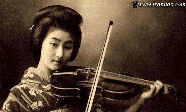 عکس های زیبا و جذابترین دختر ژاپن در 100 سال پیش