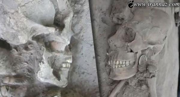 کشف جمجمه سر انسانی عجیب در مکزیک! (عکس)