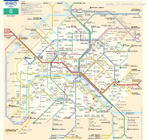 مقایسه بسیار خنده دار مترو در ایران و جهان (عکس)