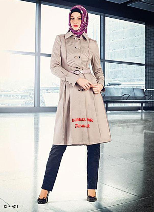 جدیدترین مدل های مانتو 2013 از فرانک ابراهیم پور