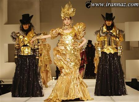 دختر گرانقیمت ژاپنی در گرانقیمت ترین لباس (عکس)