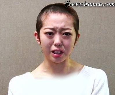 این دختر سرشناس بخاطر یک پسر موهایش را تراشید!!