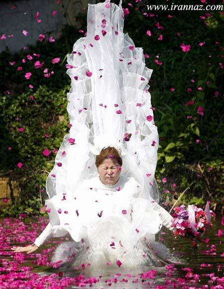 وقتی عروس خانمها هم برای عروسی کارواش میروند
