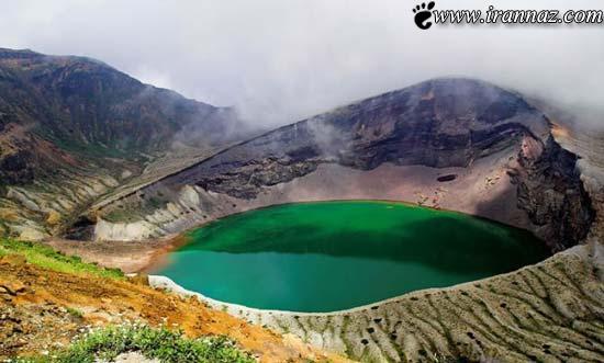 عکس هایی زیبا از دریاچه های دهانه آتشفشانی جهان