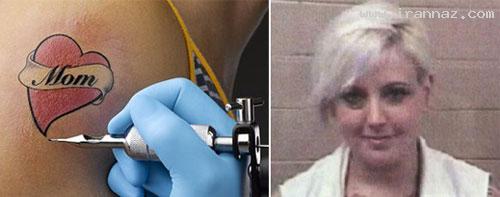 خالکوبی کردن غیر قانونی روی بدن یک دختر 11 ساله!
