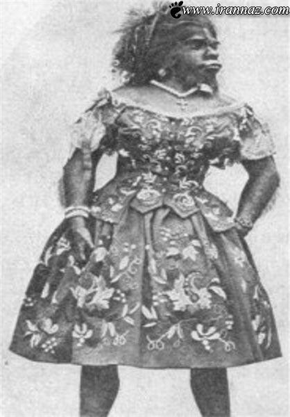 خاکسپاری زشت ترین و عجیب ترین زن جهان (تصاویر)