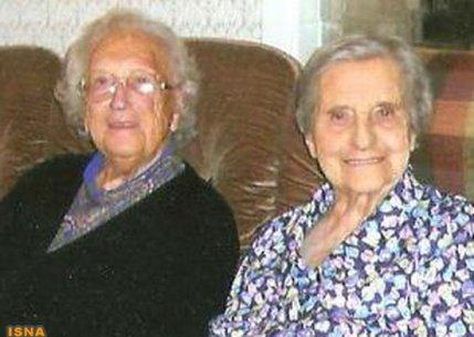 پیرترین خواهران دوقلوی جهان با 103 سال سن!