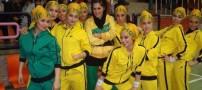 مسابقه رقص با حضور دختران ایرانی در تهران (عکس)