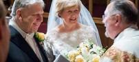 ازدواج این خانم و آقای عاشق پس از پنجاه سال دوری!