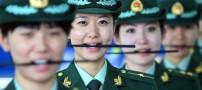 روش بسیار جالب آموزش لبخند زدن به پلیس زن چینی