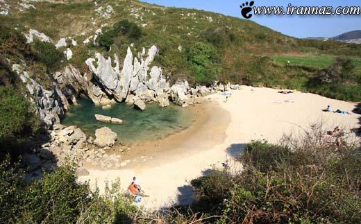 عجیب و در عین حال جالب ترین ساحل جهان! (عکس)