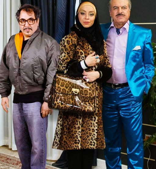اولین عکس های سریال ویلای من از مهران مدیری