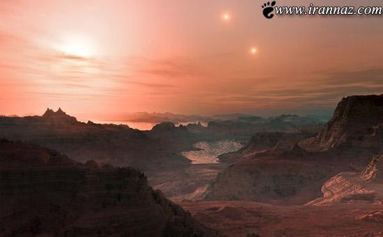 زیباترین و برترین عکس های فضایی در سال 2012