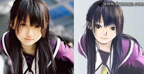 عکس هایی از دخترانی شبیه شخصیت های کارتونی!