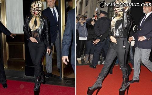 شوکه شدن مردم و خبرنگاران از لباس جدید لیدی گاگا!