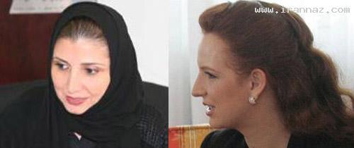 دختر پادشاه عربستان هم کشف حجاب کرد! (عکس)