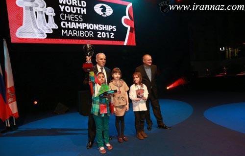 دختر ایرانی پر افتخارترین شطرنج باز دنیا شد! (عکس)