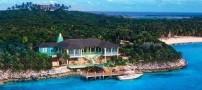 عکس های جزیره شخصی زیبا و رویایی دیوید کاپرفیلد