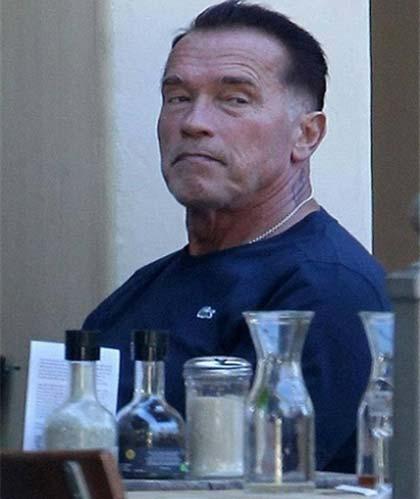 فیلم جدید آرنولد شوارتزنگر به پایان خط رسید (عکس)