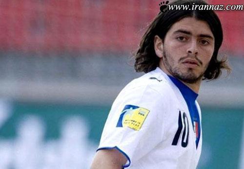 حضور فرزند نامشروع مارادونا در تیم ملی ایتالیا! (عکس)