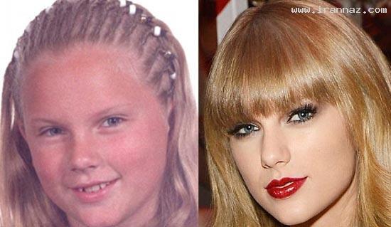 چهره دیدنی یک خواننده زن قبل از اینکه معروف شود!!