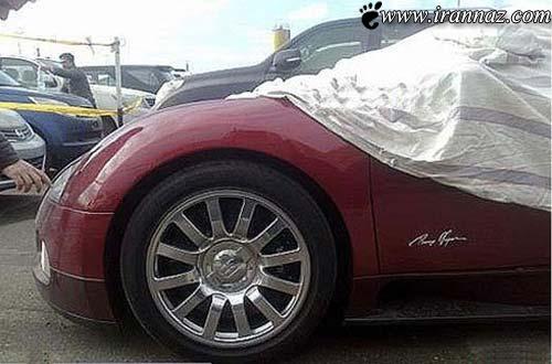 عکس هایی دیدنی از گران ترین خودروی جهان در ایران!