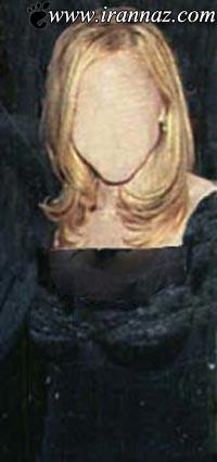 زن معروف و بدون صورت که همه از او میترسند (عکس)