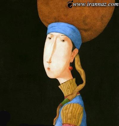 نمایش متفاوت و جالب زن از دید یک هنرمند (تصاویر)